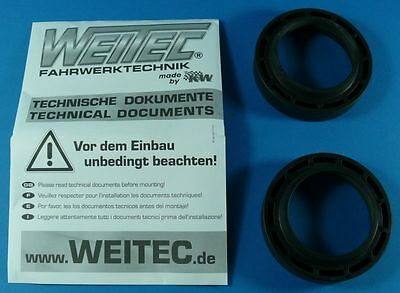rear Spring spacers 20mm rear Mercedes W202 all TÜV certified