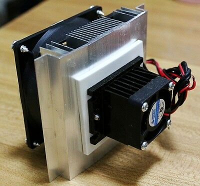 Thermoelectric Heatsink Plate 12V for Cooling Heat Small Refrigerator DIY 12705