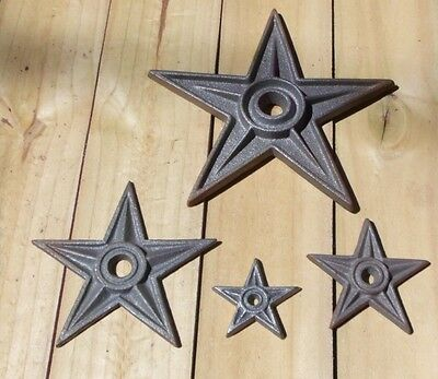 Cast Iron Star ~ Craft Shapes ~ Texas Wall Decor { 4 Sizes }  by PLD