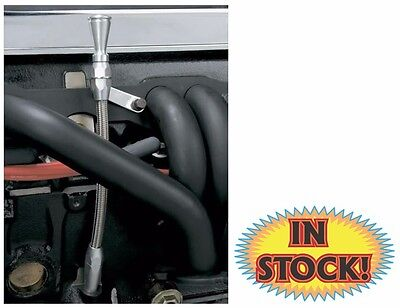 Lokar ED-5008 - GM LS1 Flexible Engine Oil Dipstick