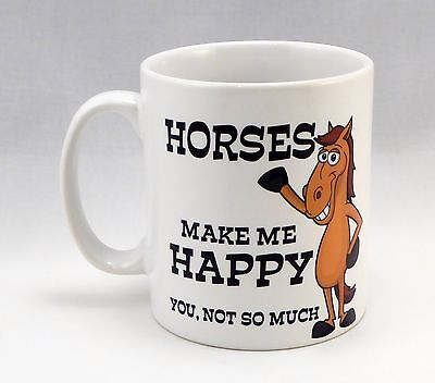 Equestrian Horsey Horse Pony Personalised Mug Coffee Cup NEW Birthday Gift Idea