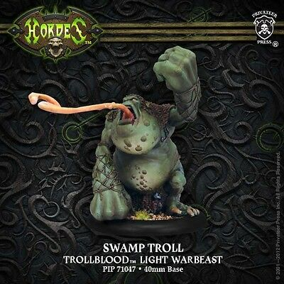 Hordes: Trollbloods: Swamp Troll Light Warbeast (PIP71047) NEW