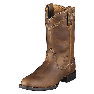 "Ariat Roper Boot (Mens Heriatge Roper, USA ""EE"" size)"