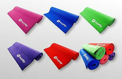 Exercise Foam Yoga Mats 6mm Thick Non Slip Pilates Physio Fitness Training