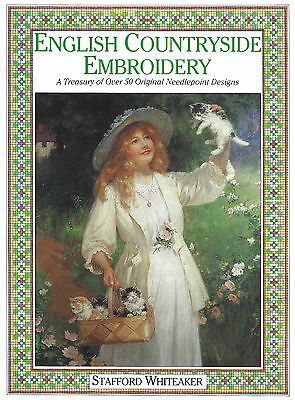 Needlepoint English Countryside Embroidery designs pattern book