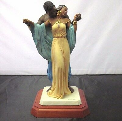 Thomas Blackshear Ebony Visions THE TENDER TOUCH Limited Edition Sculpture Delta