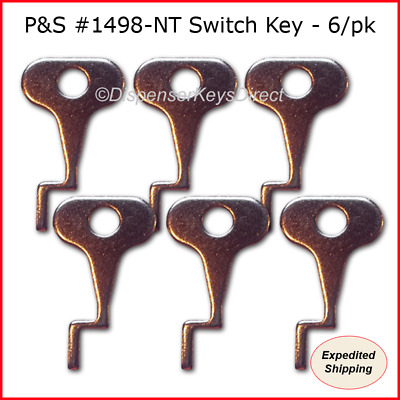 Pass & Seymour #1498-NT Tamper Proof Electrical Switch Key - (6/pack)