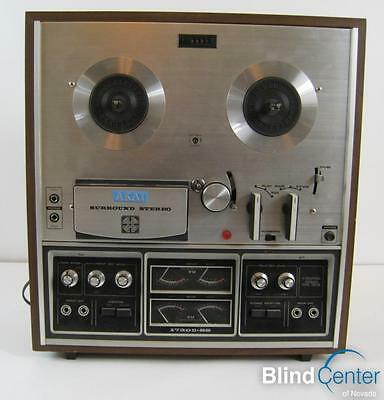 Vintage Akai 1730D-SS Reel To Reel 4 Channel Surround Sound Tape Recorder