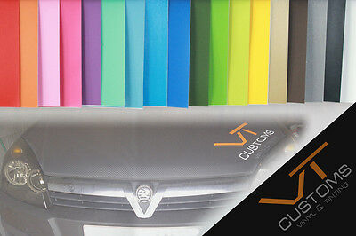 Matt Vinyl Wrap Car Air/Bubble Free - All Colours with multi Sizes
