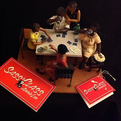 """Annie Lee Figurine-""""Put Some Skirts on the Cards""""- Sass N' Class -NIB- RETIRED"""