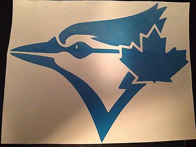 Toronto Blue Jays Decal Sticker BLUE Plus A FREE Mini Decal!