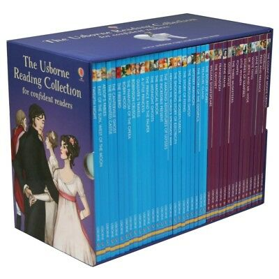 Usborne My Reading Library 50 Paperback Books Collection Box Set Lv3,4, Young S1