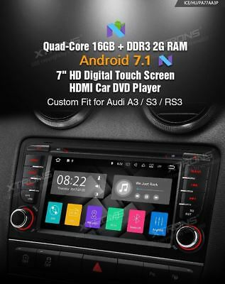"Autoradio Gps Xtrons Audi A3 Android 5.1 7""hd Usb Sd Dvd Canbus Wi-Fi 3G Dab Mp3"