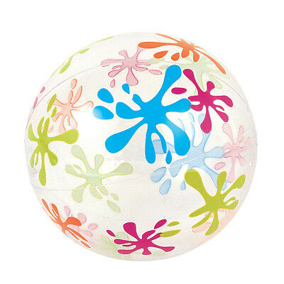 "Inflatable Beach Ball Swimming Padding Pool Toy Fun - 16"" 20"" 24"" 48""  Designs"