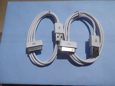 4 X Iphone 4 4S New High quality USB Data Sync Charger Cable