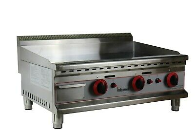 NEW Infernus Commercial 730mm Gas Griddle Counter Top Hot Plate
