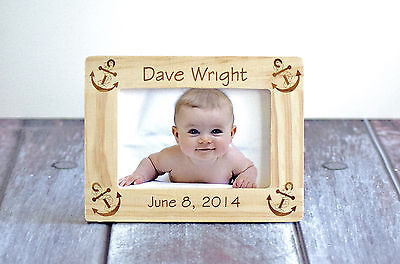 First Year Photo Frame Picture- Baby Gift - New! Personalized Baby frame