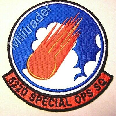 United States (US) Air Force 522nd Special Operations Squadron Patch