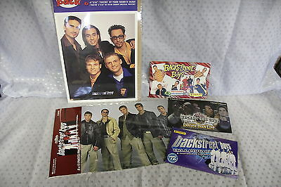Backstreet Boys Picture Pack - 7  8x10 and 18 4x6 Color Photos - NEW