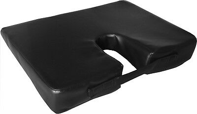 Wedge Cushion Foam Wedged Seat Lumbar Back Support Posture Office Chair Car New
