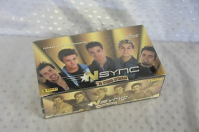 "NSYNC ""No Strings Attached"" Box of 36 Photocard Packs - NEW - Justin Timberlake"