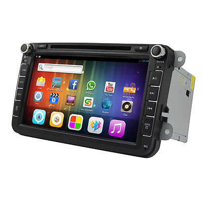 ANDROID 4.22 8INCH CAR DVD GPS FOR Wolkswagen Jetta golf 6 magoton passat polo