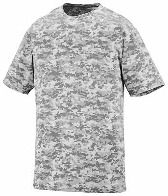 Augusta Sportswear Men's Digi Camo Moisture Wicking Short Sleeve T-Shirt. 1798