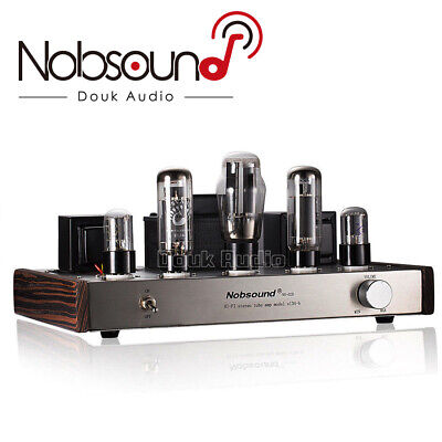 Nobsound EL34 Single-ended Class A Tube Amplifier Stereo Audio HIFI Amp