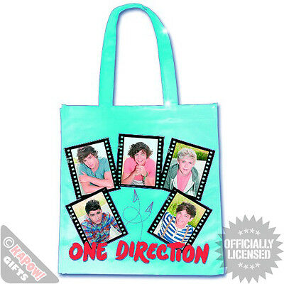One Direction Film Strips Plastic Eco Bag ( 1D officially licensed merchandise )