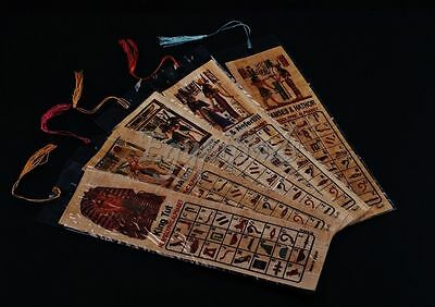 SALE Lot Of 100 Ancient Egyptian Authentic Large Hand Made Papyrus Book Marks
