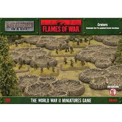 FoW-BB144 - FLAMES of WAR: 15mm; Craters