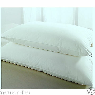 Brand New Soft Luxury Value Range Safety Green Tint Fr Waterproof Pillows 7175