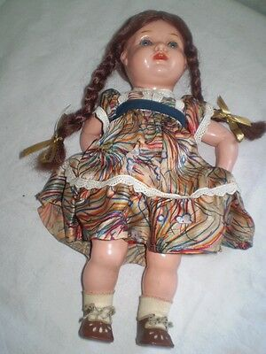 OLD beautiful,  DOLL celluloid SCHUTZ MARKE 33 F/33 GERMANY 1900-1940