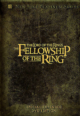 The Lord of the Rings: The Fellowship of the Ring (DVD, 2002, 4-Disc Set,...