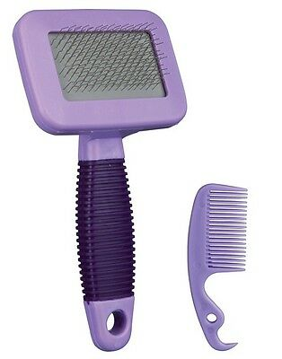 Grooming Care Hair Brush Tool + Comb for Rabbit Guinea Pig Ferret by TRIXIE