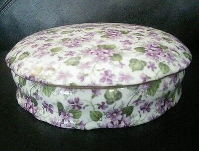 Formalities by Baum Bros~ Violets~ chintz collection