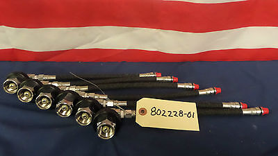 New Scott 802228-01 SCBA High Pressure Hose and Coupling for 4,500 Psi