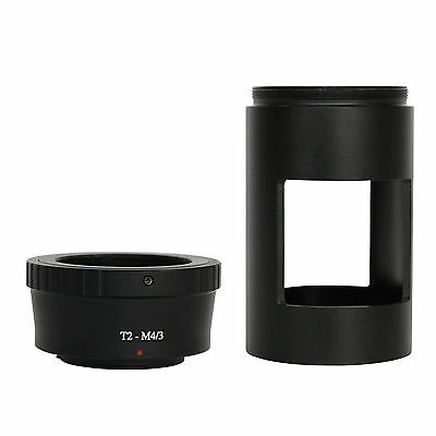 T T2 Mount for Olympus Panasonic Micro M4/3 Cameras and 42mm Spotting Scope Tube