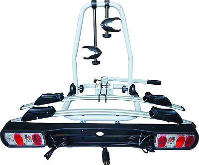 Car & 4x4 Tow Ball Fit 30kg 2 Bike Bicycle Travel Rack Carrier - Life Guarantee