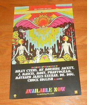 The Flaming Lips With a Little Help From my Fwends Poster Original Promo 16x10