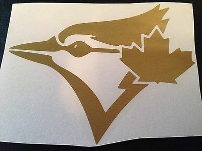 Toronto Blue Jays Decal Sticker GOLD Plus A FREE Mini Decal!