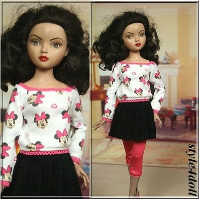 """Extra Sale -  Style4doll  outfit for Ellowyne Wilde 16"""" Tonner"""