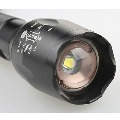 ZOOM 2500LM 5-Mode Adjustable Focus CREE XM-L T6 LED 18650 Flashlight UltraFire