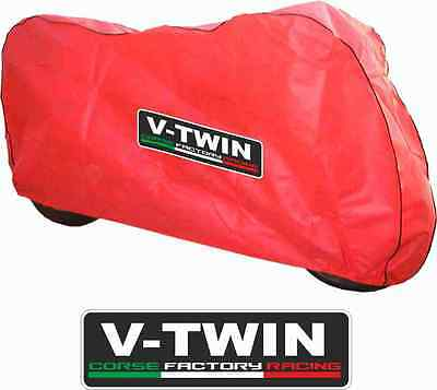 Breathable Indoor motorcycle  Dust cover RED to fit Ducati Panagale 1299 R S