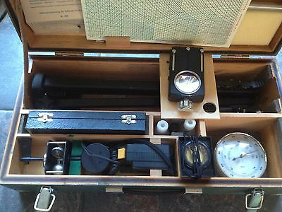 MILITARY DDR PORTABLE METEOROLOGICAL STATION,MINT