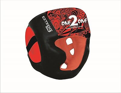 ONE2ONE  Head Guard Helmet Boxing MMA Martial Arts Gear Protector Kick
