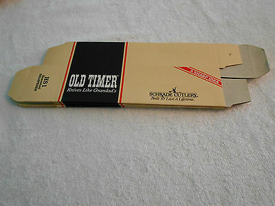 Lot Of 5 Schrade Old Timer HS1 Honesteel Sharpener Boxes (EMPTY); New Old Stock