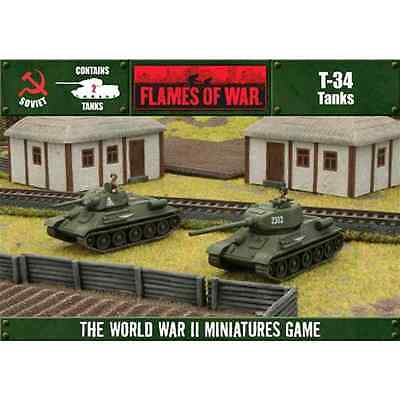 FLAMES of WAR: T-34 / T-34-85 (2 tanks in a box)