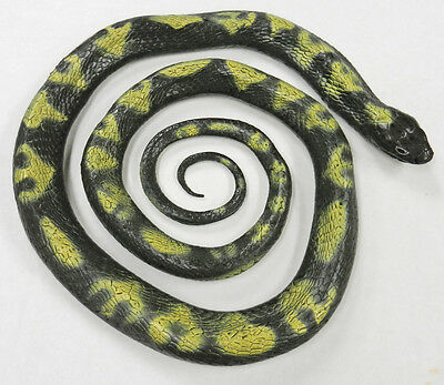 "AAA 22203 62"" Adult Python Realistic Toy Snake Reptile Model Replica - NIP"