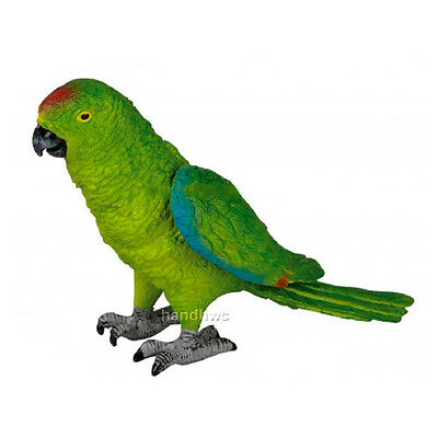 AAA 23202 Green Parrot Toy Bird Model Replica - NIP